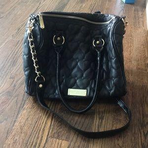 Black Betsey Johnson Bag